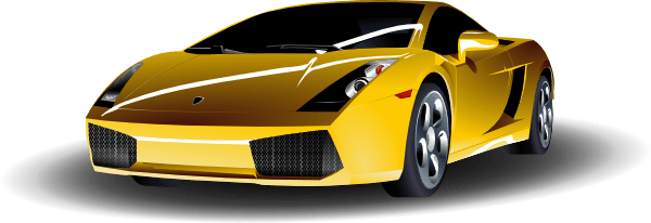 Yellow Sports Car Clip Art At Clker Com Vector Clip Art
