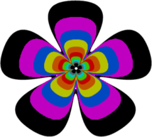 Flower   Free Images at Clker.com - vector clip art online ... (300 x 271 Pixel)