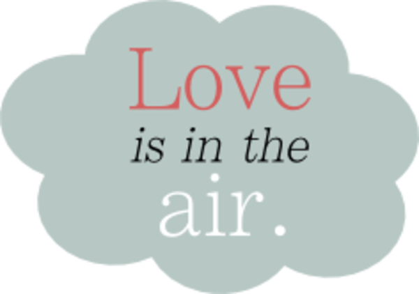 Download Love Is In The Air Cloud Valentine   Free Images at Clker ...