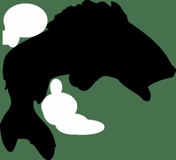 Black Fish Clip Art at Clker.com - vector clip art online ... (600 x 547 Pixel)