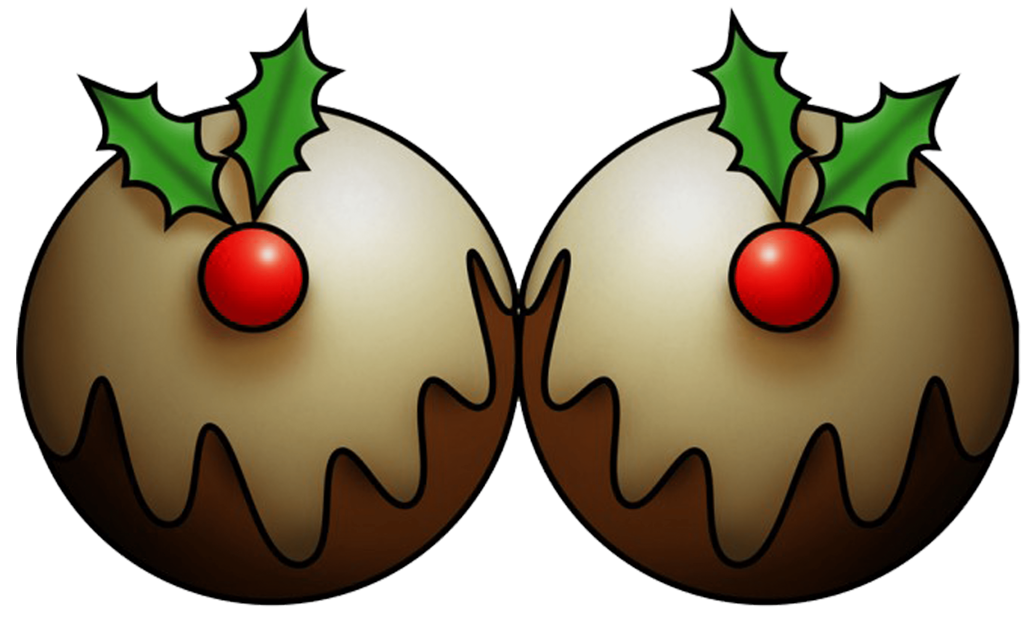 Christmas Pudding Pictures Clip Art