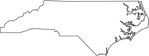 Page Coloring North Blank Carolina
