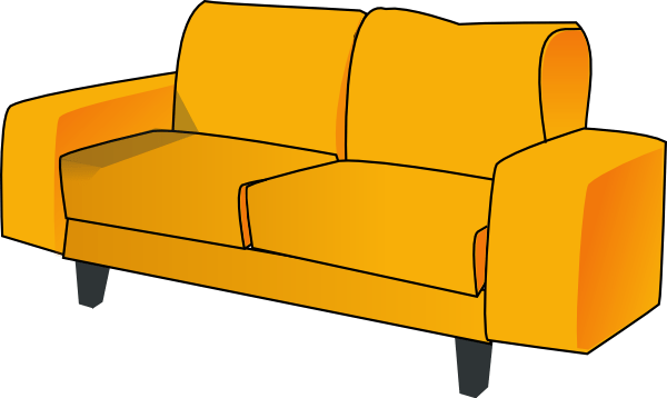 Clip Art Couch Family