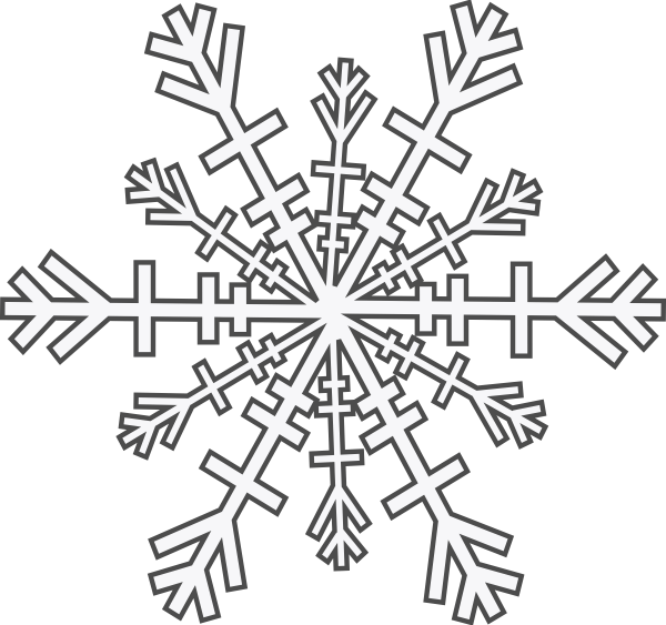 Snowflake Clip Art At Vector Clip Art Online
