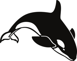 orca clip art at clker com vector clip art online royalty free
