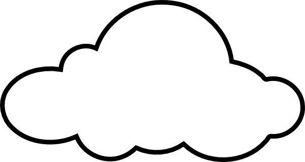 white cloud clip art at clker com vector clip art online royalty