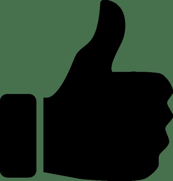 Facebook Thumbs Vector