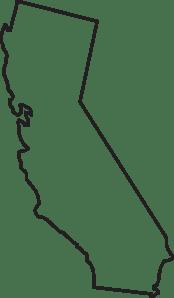 Download California State Outline Clip Art Clip Art at Clker.com ...