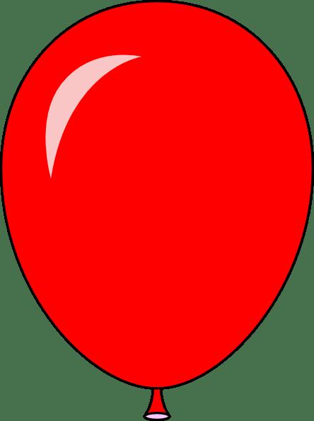 New Red Balloon Light Lft Clip Art At Clker Com Vector
