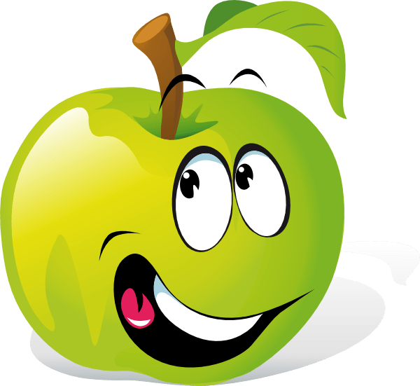 Fruit Faces Clip Art