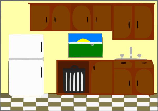 Kitchen Bright Clip Art Clker Vector Royalty