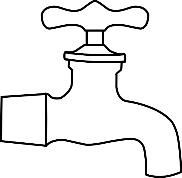 water faucet clip art at clker com vector clip art online royalty