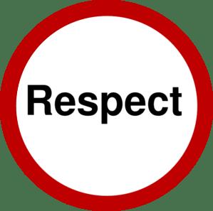 Respect Clip Art
