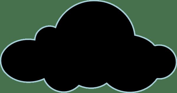 Dark Cloud Clip Art at Clker.com - vector clip art online ... (600 x 316 Pixel)