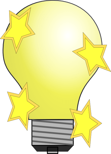 Magic Lightbulb Clip Art At Clker Com Vector Clip Art
