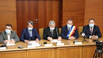 Primarul din Călărași, Marius Dulce, a depus jurământul de învestitură. FOTO Adrian Boioglu