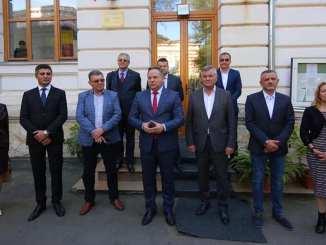 Echipa de candidați ai PSD Călărași la alegerile parlamentare din decembrie 2020. FOTO Facebook