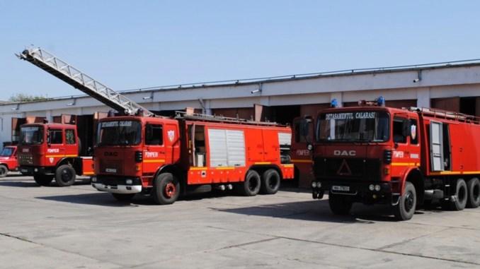 Detașamentul de pompieri Călărași. FOTO ISU Călărași