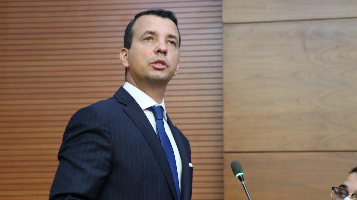 Sorin Vrăjitoru, deputat PSD Călărași. FOTO Adrian Boioglu