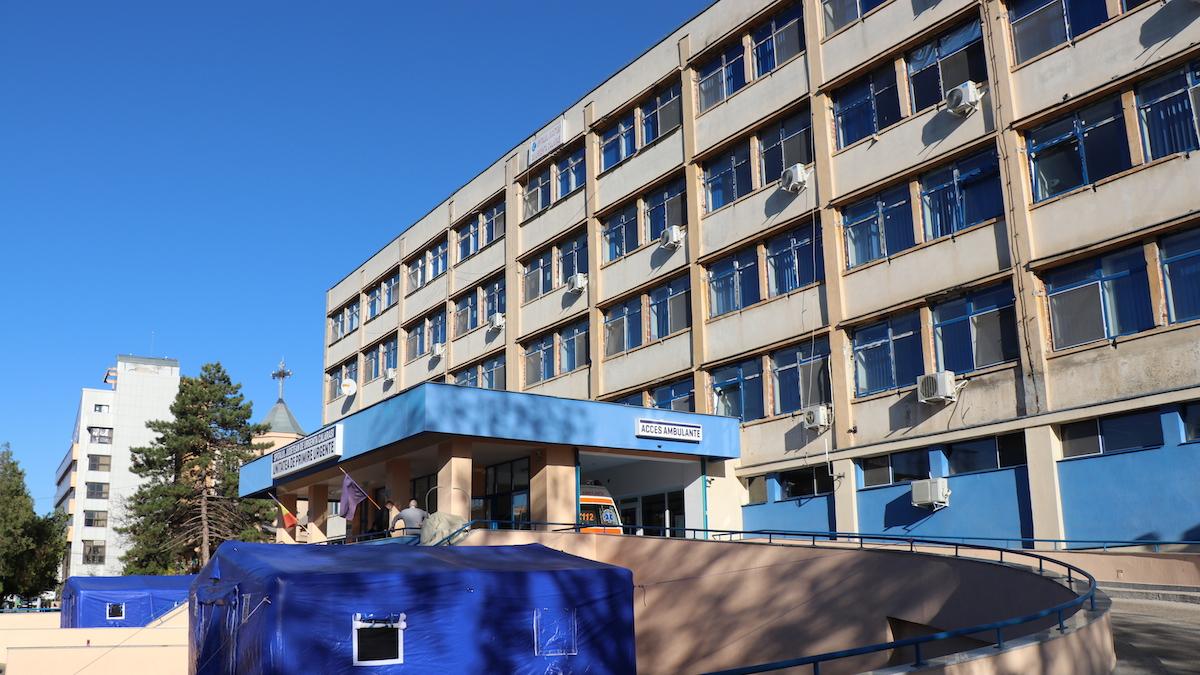 Spitalul Județean de Urgență Călărași. FOTO Adrian Boioglu