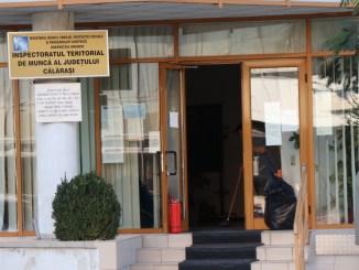 Inspectoratul Teritorial de Muncă (ITM) Călărași. FOTO Adrian Boioglu