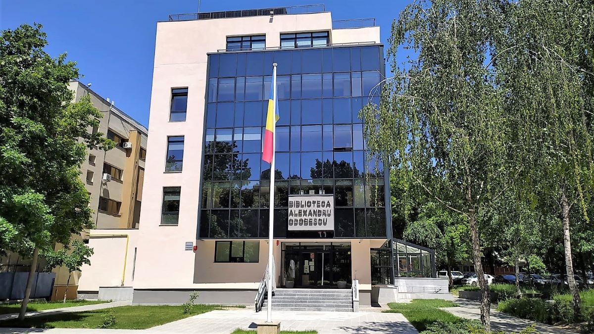 Biblioteca Alexandru Odobescu, Calarasi
