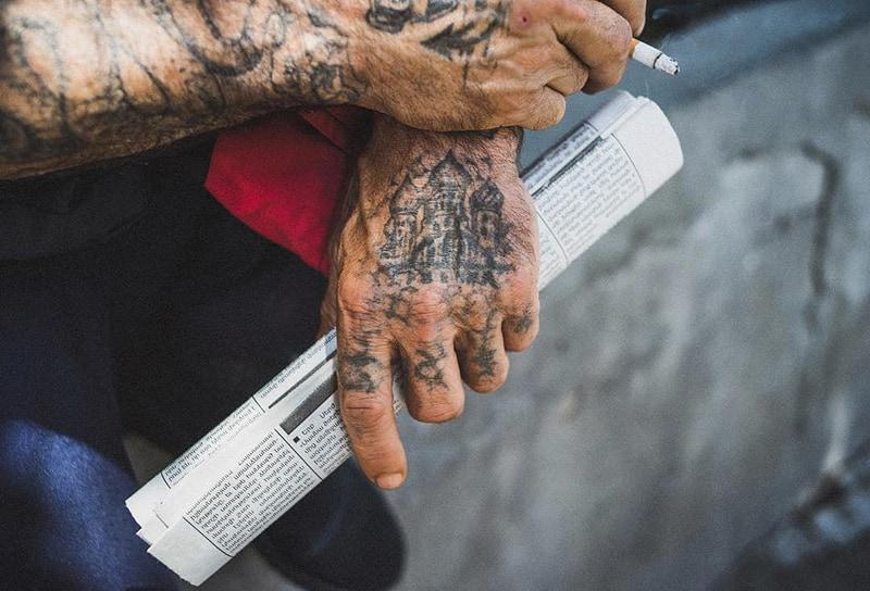 Secrets Written On The Skin Russian Prison Tattoos Cloak And