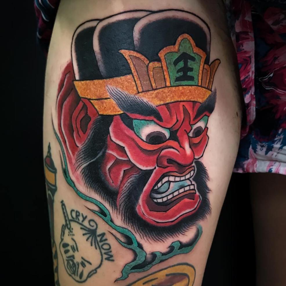 Ukiyo E And Kabuki The Origins Of The Japanese Tattoo Style Cloak