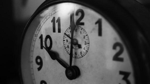 Timekeeping when job seeking