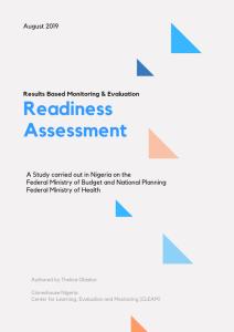 Nigeria Readiness Assessment 2019, Cloneshouse Nigeria