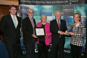 Beachcombers the CoastCare Merit Award 2013.