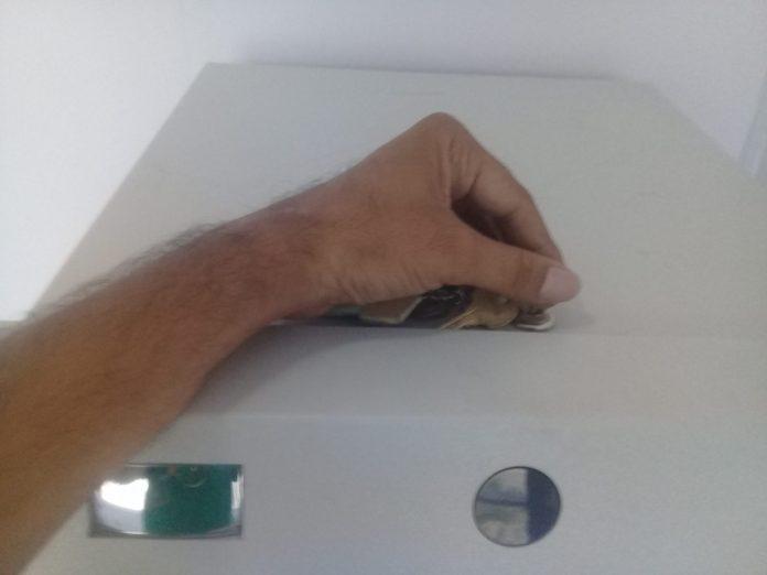 ATM key