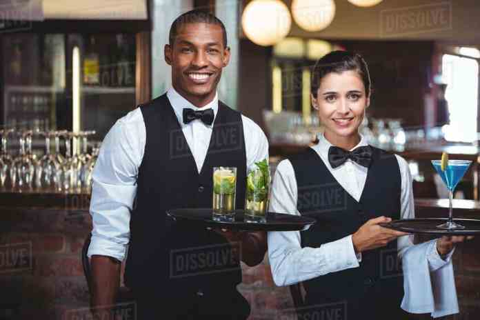 waiter and waitress job