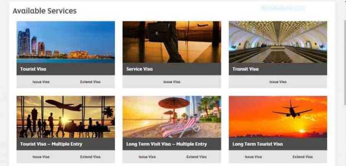 UAE visit visa application