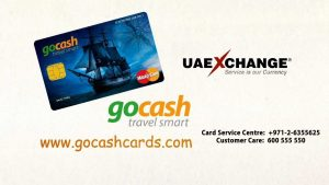uae exchange, gocash card