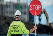 traffic control security guard training
