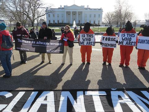 Close Guantanamo, Jan. 11, 2015.