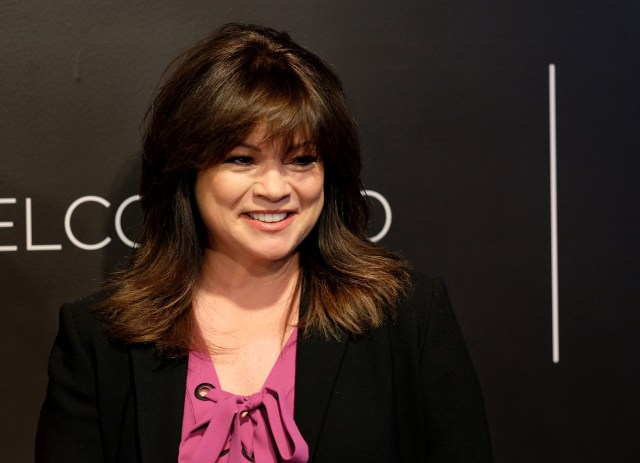 "valerie bertinelli loves being in the kitchen: ""i like being"