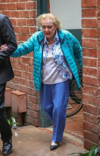 Betty White Looks Great As She Steps Out Ahead Of 97th