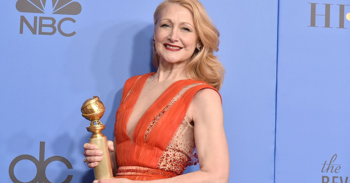 Patricia Clarkson Celebrated Golden Globe Nomination With