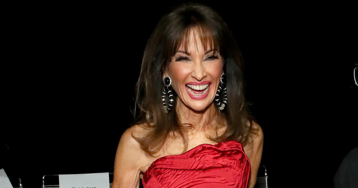 Susan Lucci Takes A Tumble On The Nyfw Runway