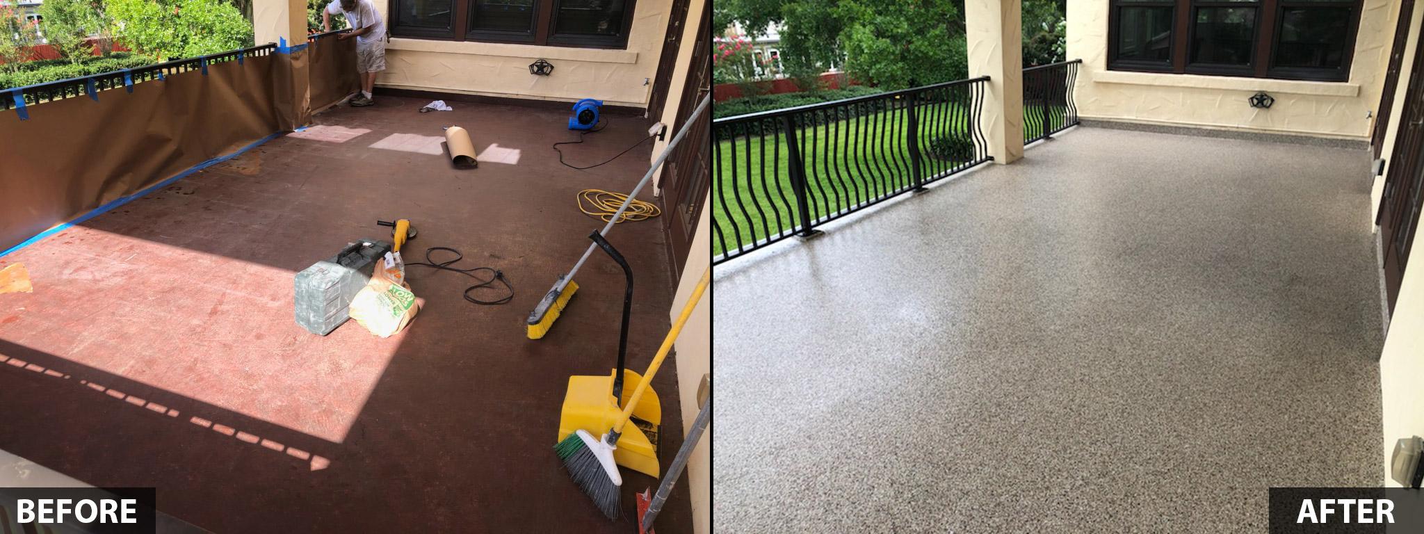 floor coatings tampa bay fl st