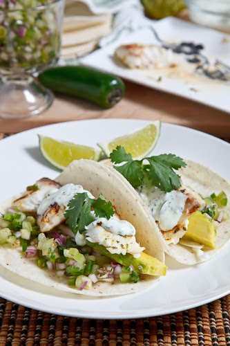 Cilantro and Lime Fish Tacos