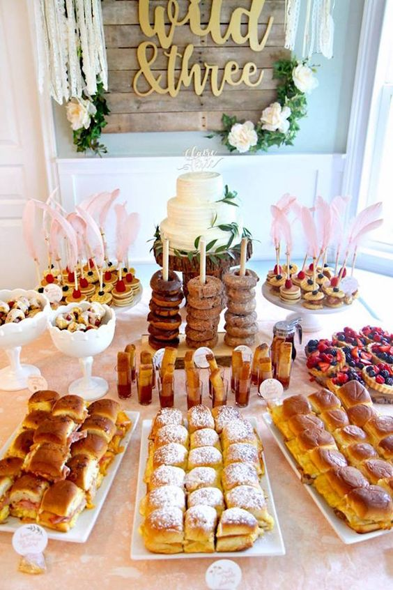 First Birthday Brunch Party Ideas Closetful Of Clothes