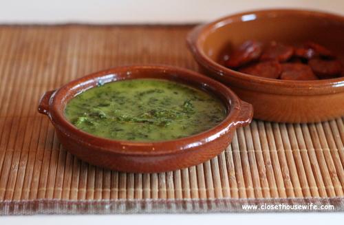 Mojo Verde og Chorizo