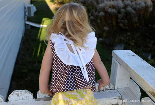 Beautiful neckline