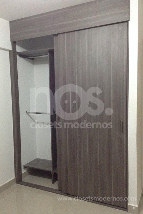 Closet corredizo 3b nos closets modernos for Medidas closets modernos