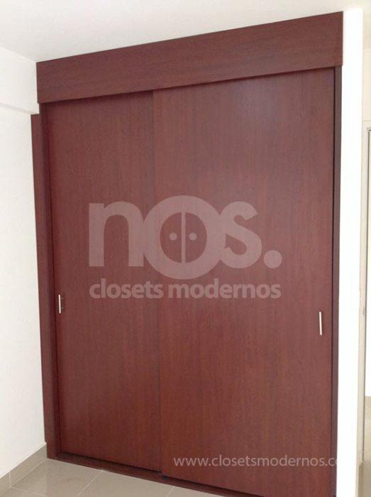 Closet corredizo 5b nos closets modernos for Closets estado de mexico