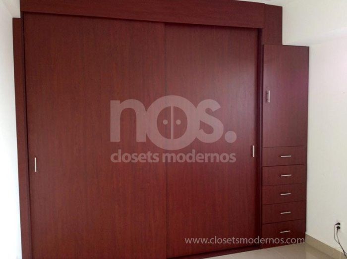 closet moderno corredizo 6b