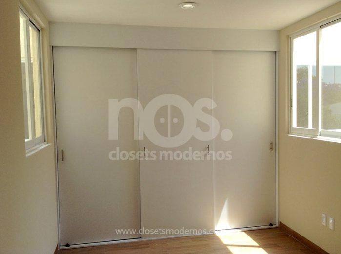 Diseño a la medida de closets modernos de madera economicos CDMX DF Mexico